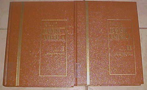 Reference Library of Jewish America Volume I and II