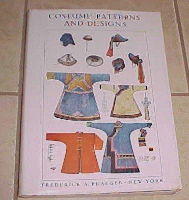 Costume Patterns And Designs Max Tilke 1961 HC DJ