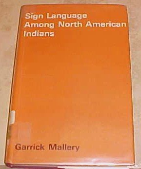 Sign Language Among North American Indians Garrick Mallery 1972 HC DJ
