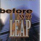 Before You Leap John Lutz audio book cassette