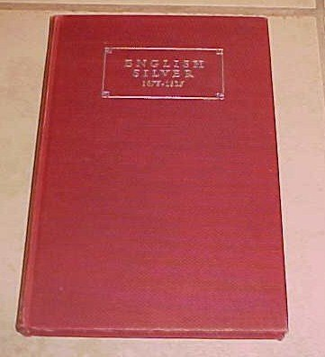 English Silver 1675-1825 Ensko Wenham Hardcover DJ