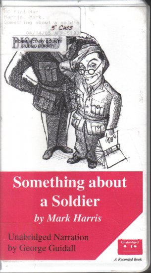 Something about a Soldier Mark Harris Unabridged audio book cassette