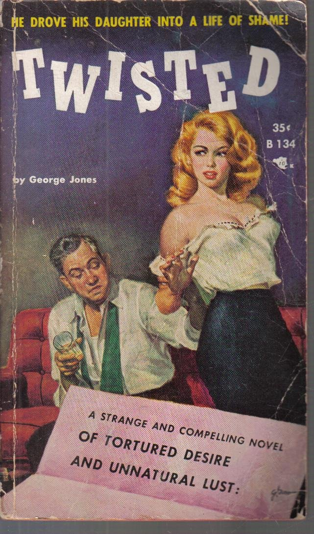 Twisted George Jones  1957 Beacon Paperback