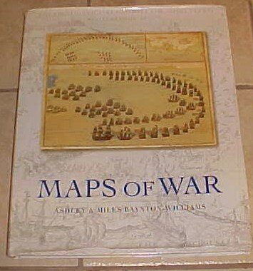 Maps of War Ashley Miles Baynton-William HC DJ