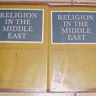 Religion in the Middle East Volume 1 and 2 (2 volume set) A.J. Arberry 1969 HC DJ