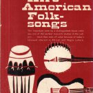 Afro-American Folksongs A Study in Racial and National Music