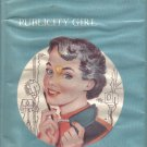 Marcia Blake Publicity GIrl Nancy Webb 1956 HC DJ