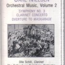 Carl Nielsen Orchestral Music, Volume 2 (Musical Heritage Society Audio Cassette)