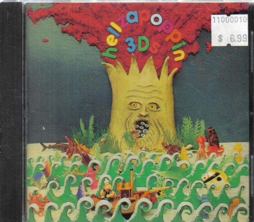 Hellzapoppin 3DS audio cd