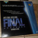 Laserdisc FINAL APPROACH  Laser disc Videodisc Very Good Widescreen Edition