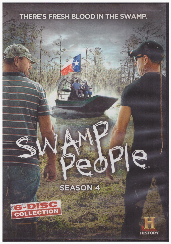 Swamp People Season 4 (DVD-6 disc set)