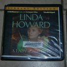 A Lady of the West (audio book cds) Linda Howard