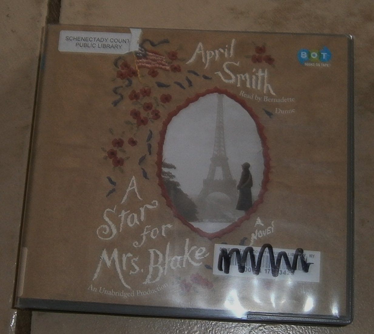 A Star for Mrs. Blake April Smith audio book cds