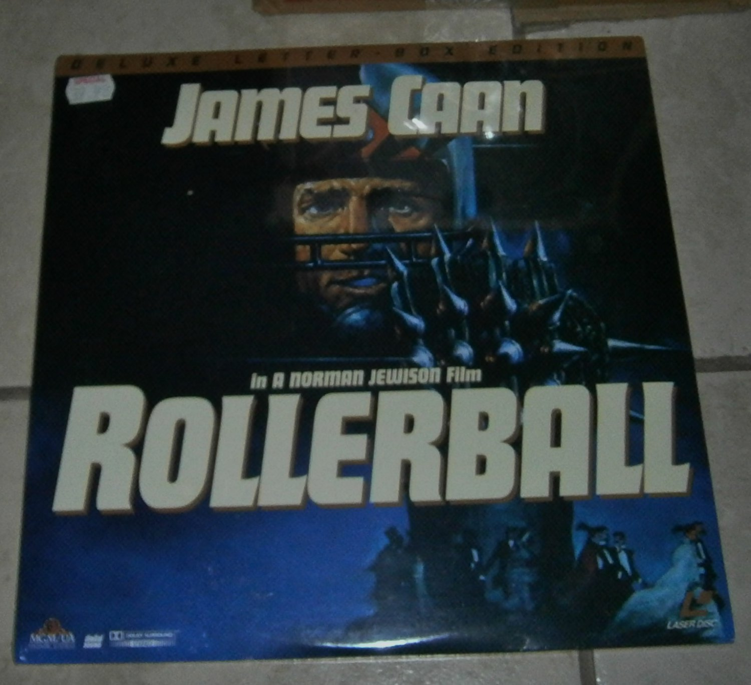 Rollerball Sealed Laserdisc James Caan Deluxe Letterbox Edition