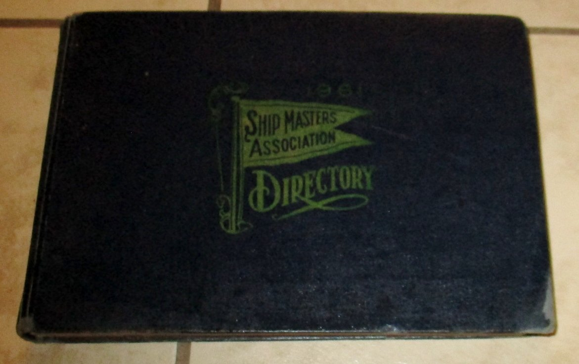1961 Ship Masters' Assocation Directory