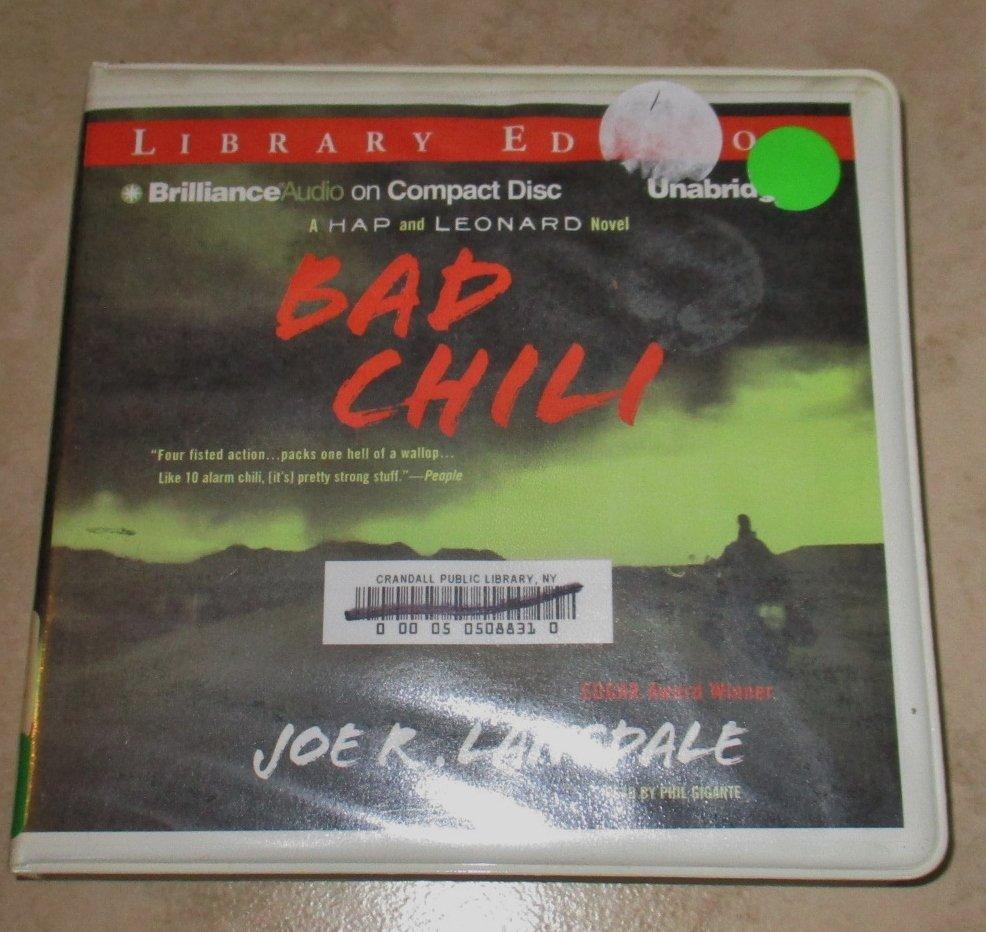 Bad Chili Audio Books Cds Joe K. Lansdale