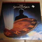 THE SEVENTH SIGN Laserdisc Laser VIDEODISC  Very good
