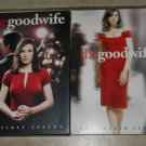 The GOOD WIFE TV show First and Fourth Seasons 1 and 4 complete DVD dvds