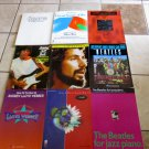 Lot 9 SONGBOOKS Beatles Doors Webber Cat Stevens Jeff Beck Dave Matthew Rock++