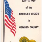 Fifty Years 1919-1969 of the American Legion in Oswego County