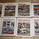 Lot 8 WINSTON CUP SERIES Books Illustrated Hardcovers 1993 95 96 97 98 99 2002 3