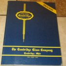 Fine Handmade Table Glassware Cambridge Glass Company 1949-1953 Book soft cover