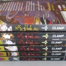 Lot 6 XXX HOLIC Manga Books 1-6 CLAMP Graphic Novels