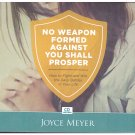 No Weapon Formed Against You Shall Prosper  (audio book cds) Joyce Meyer Free USA S/H