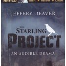 The Starling Project Jeffery Deaver MP3-CD Audio book Free USA S/H