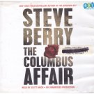 The Columbus Affair (unabridged audio book cds) Steve Berry Free USA S/H