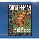 Shredderman Meet the Gecko (Unabridged audio book cds) Wendelin Van Draanen Free USA S/H