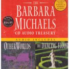 Barbara Michaels: Contains Other Worlds and The Dancing Floor (Audio CD) Free USA S/H