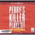Perry's Killer Playlist (unabridged audiobook cds) Joe Schreiber Free USA S/H