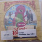 Barney The Land of Make Believe Audio CD Free USA S/H