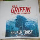 Broken Trust (Audio Book cds) Web Griffin William E. Butterworth Audiobook Free USA S/H
