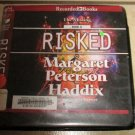 The Missing RISKED Book 6 Margaret Peterson Haddix Audiobook CDs Audio Unabridged Free USA S/H