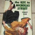 The Key to Nicholas Street Stanley Elln 1952 Dell Paperback #763 Free USA S/H