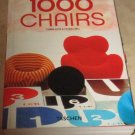 1000 Chairs Charlotte Peter Fiell Soft cover--Free USA S/H