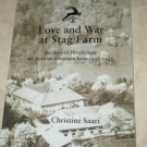 Love and War at Stag Farm Christine Saari SIGNED Soft cover Free USA S/H