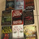 Lot 10 LISA JACKSON Books Close Home Expecting Die Wicked Shiver Kissed Malice +