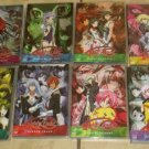 Lot 8 KIDDY GRADE Anime DVDs lot Dvd 1-2-3-4-5-6-7-8  Very good  Free USA S/H