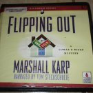 Flipping Out A Lomax & Biggs Mystery (unabridged audio book cds) Free USA S/H