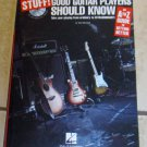 Stuff! Good Guitar Players Should Know An A to Z Guide to Getting Better (Book and CD)
