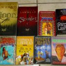 Lot 10 STEPHEN R. LAWHEAD Fantasy Novels Books Dragon King Albion King Raven