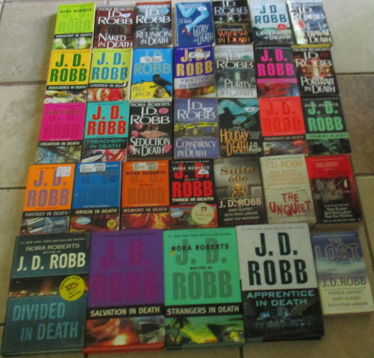 Unofficial Series List - J.D. Robb - In Order: In Death