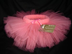 Coral Tutu-Mid-Thigh, 2T-5 Free Shipping!