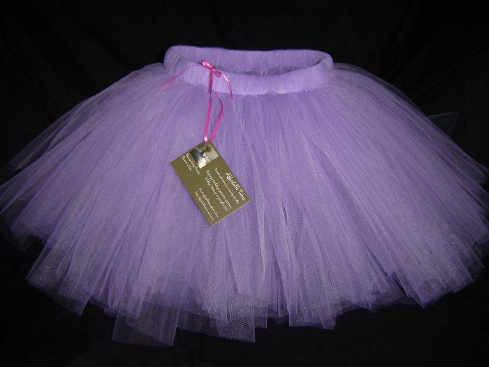 Purple Knee Length Tutu, 2T-5 Free Shipping!