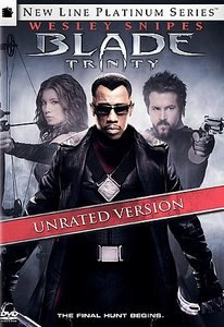 Blade: Trinity (DVD, 2005, 2-Disc Set, Unrated)
