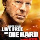 Die Hard 4: Live Free or Die Hard (DVD, 2007, Unrated; Widescreen;...