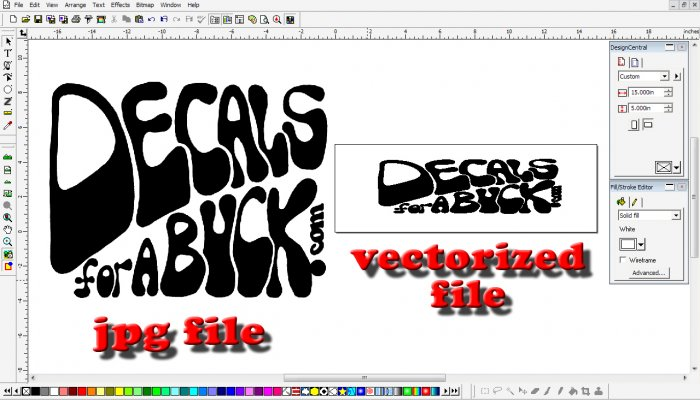 Vectorizing Service Only